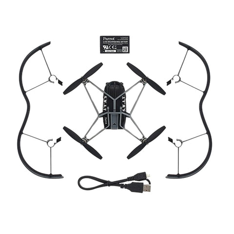 Parrot MiniDrones Airborne Night Swat (Black)