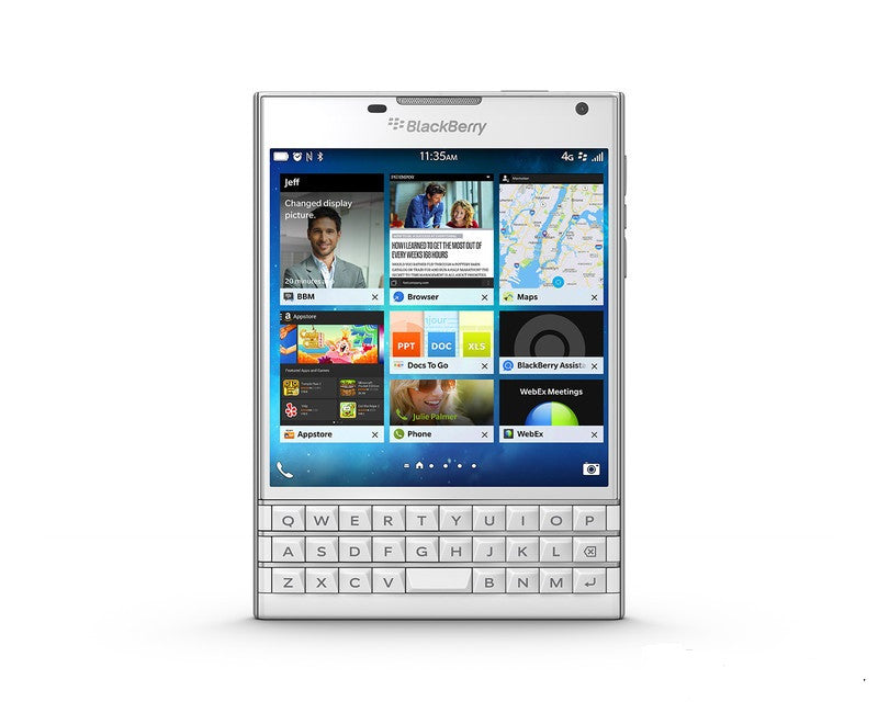 Blackberry Passport 4G LTE White Unlocked