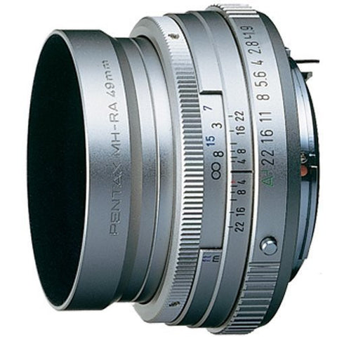 Pentax smc FA 43mm f1.9 Limited Silver Lens