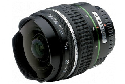 Pentax smc DA 10-17mm f3.5-4.5 ED IF Fisheye Black Lens