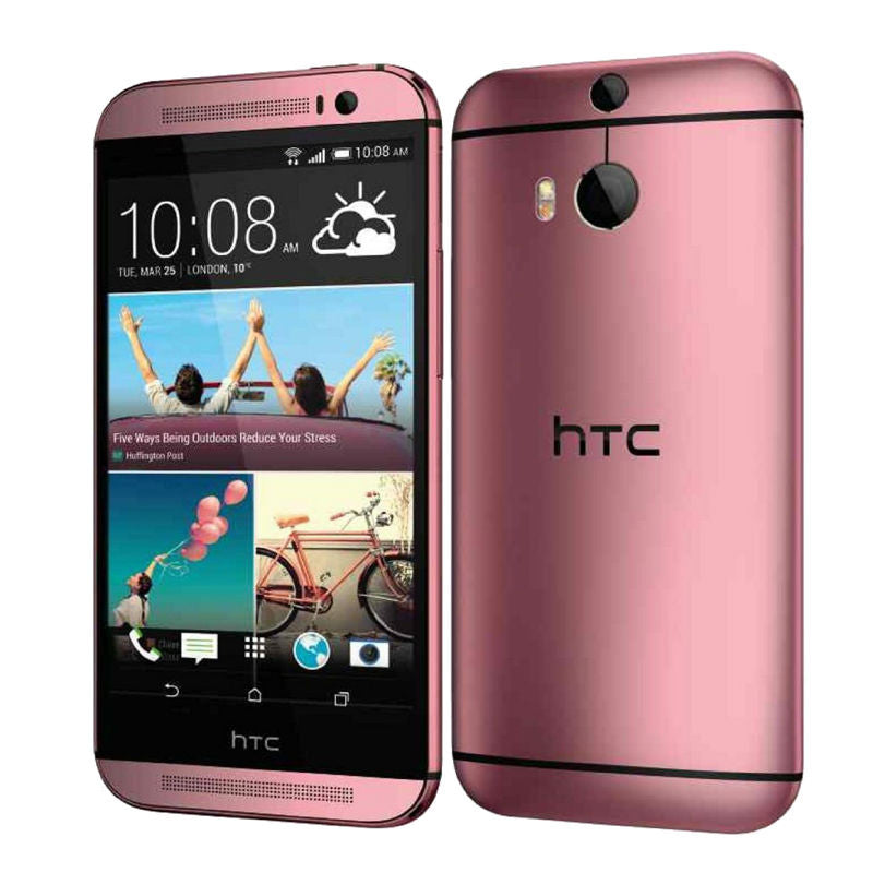 HTC One M8X 16GB 4G LTE Pink Unlocked