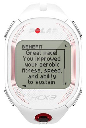 Polar Running and Multisport RCX3F 90051088 GPS Sports Watch (White)
