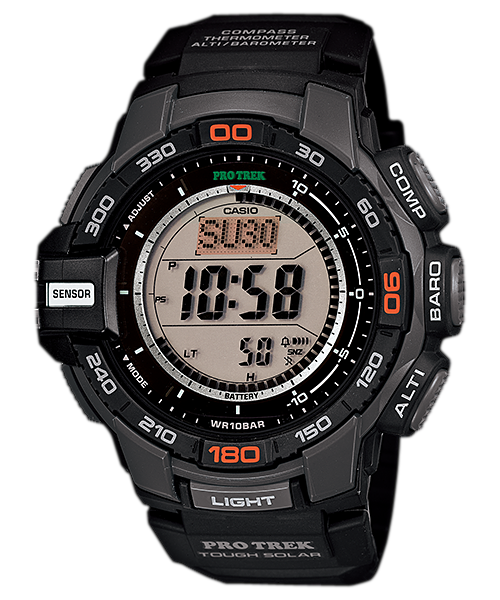 Casio Protrek Triple Sensor PRG-270-1DR Watch (New with Tags)