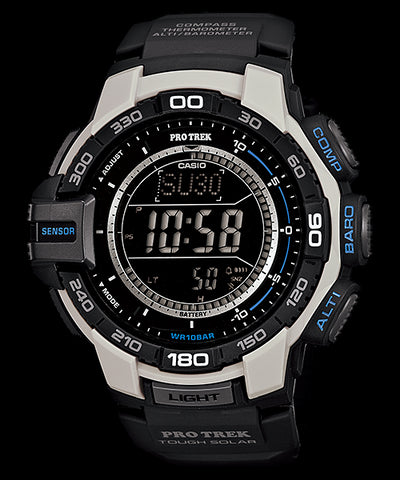 Casio Protrek Tough Solar Triple Sensor PRG-270-7 Watch (New with Tags)