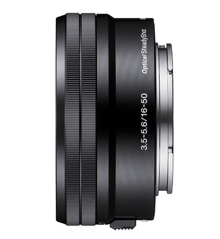 Sony E 16-50mm f/3.5-5.6 E mount Black Standard Zoom Lens