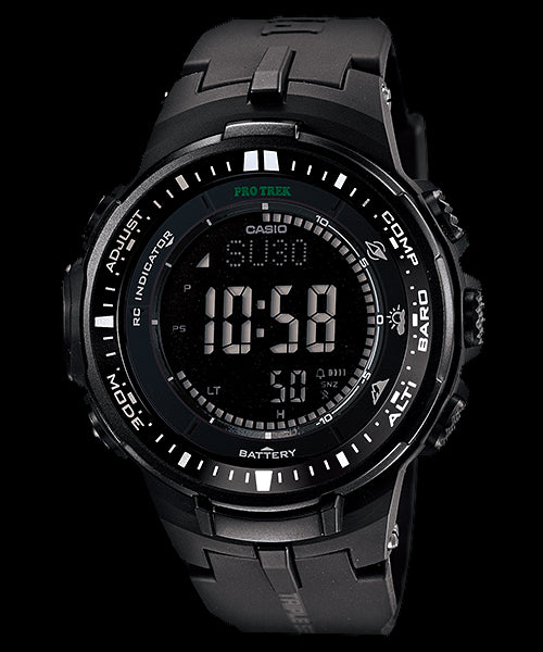 Casio Pro Trek Digital PRW-3000-1ADR Watch (New with Tags)