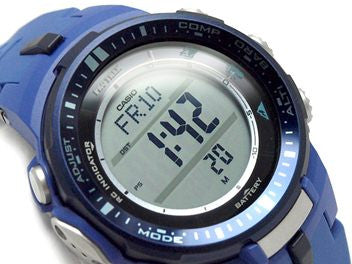 Casio Pro Trek Triple Sensor PRW-3000-2B Watch (New with Tags)