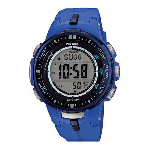 Casio Pro Trek Triple Sensor PRW-3000-2BDR Watch (New with Tags)