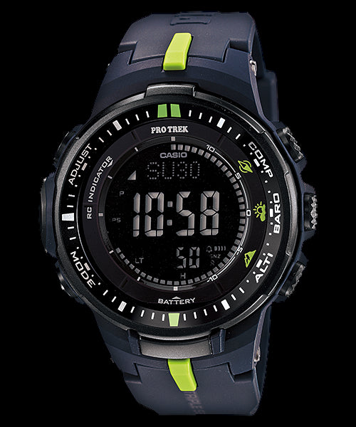 Casio Pro Trek Digital PRW-3000-2 Watch (New with Tags)