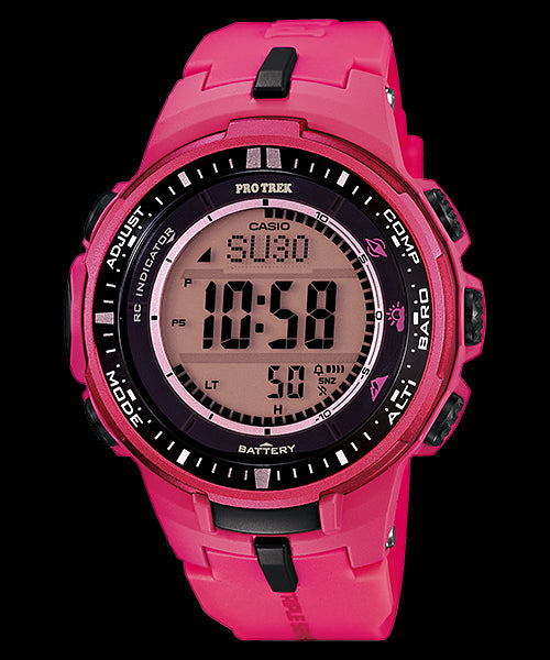 Casio Pro Trek Digital PRW-3000-4BDR Watch (New with Tags)