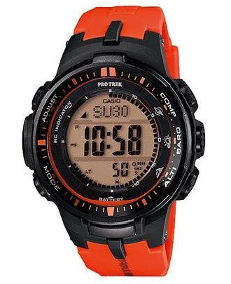 Casio Pro Trek Triple Sensor PRW-3000-4DR Watch (New with Tags)