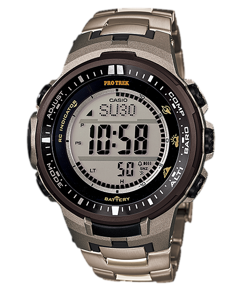 Casio Pro Trek Triple Sensor PRW-3000T-7DR Watch (New with Tags)