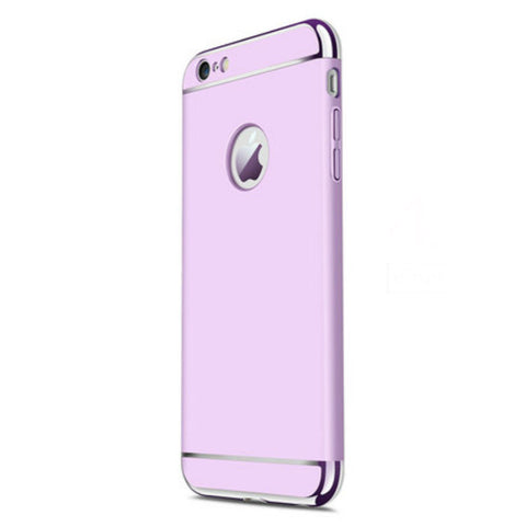 Hard Shell Case 5.5 inch for iPhone 6/6s Plus (Purple Steel Film)