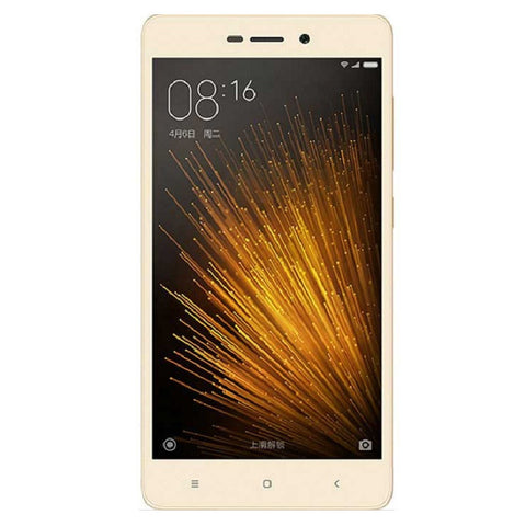 Xiaomi Redmi 3x Dual 32GB 4G LTE Gold Unlocked (CN Version)