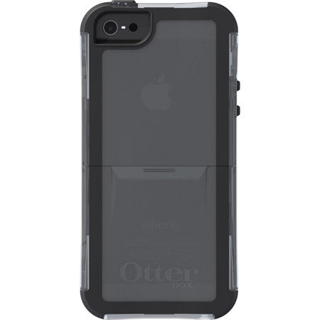OtterBox Reflex Series for IPhone 5/5S Clear Translucent/Slate Grey
