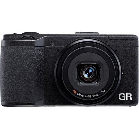 Ricoh GR II Black Digital Camera