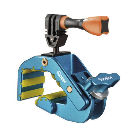 Rollei Pro Shark Mount 4048805215836 GoPro Compatible (Blue)
