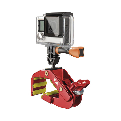 Rollei Pro Shark Mount 4048805215836 GoPro Compatible (Red)