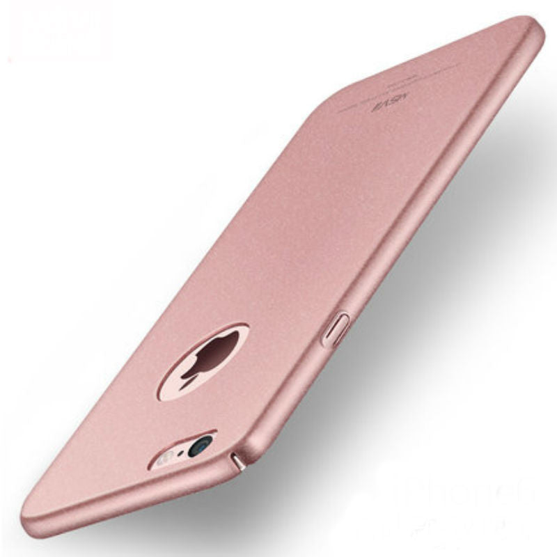 Hard Shell Matte Case 5.5 inch for Iphone 6/6s Plus (Rose Gold Rock Sand)