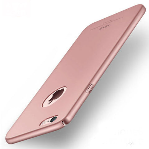 Hard Shell Matte Case 5.5 inch for iPhone 6/6s Plus (Rose Gold)