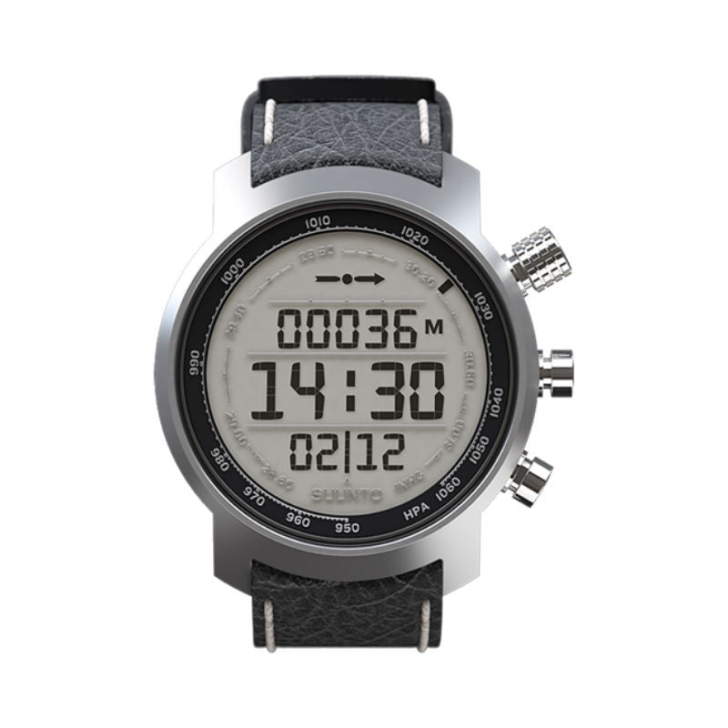 Suunto Elementum Terra SS014523000 Sports Watch Black Leather