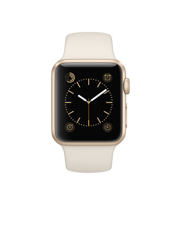 Apple Watch Sport 38mm Gold Aluminum Case MLCJ2 (White)