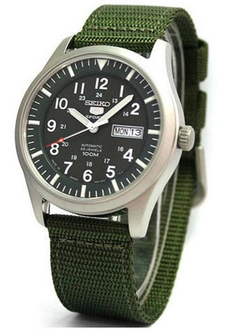 Seiko Military Automatic Sport SNZG09J1 Watch (New with Tags)
