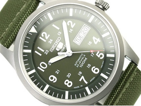 Seiko 5 Military Automatic SNZG09J1 Watch (New with Tags)