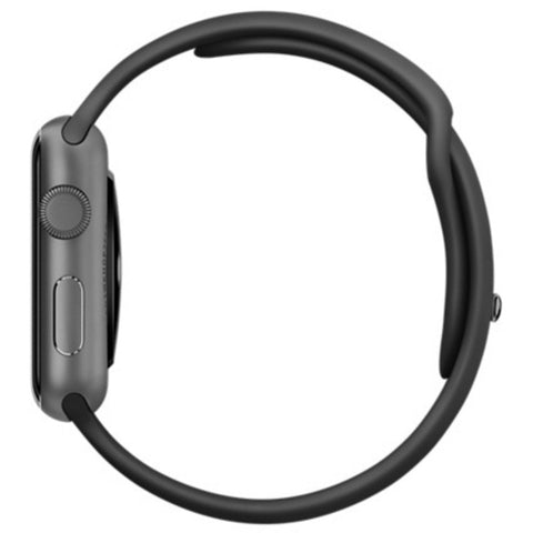 Apple Watch Sports 42mm Black Sport Band 4J3T2 Space Gray (Apple Certified Pre Owned)