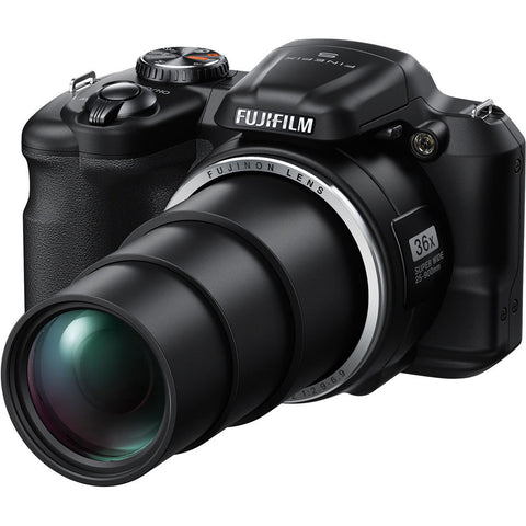 Fuji Film FinePix S8600 Black Digital Camera