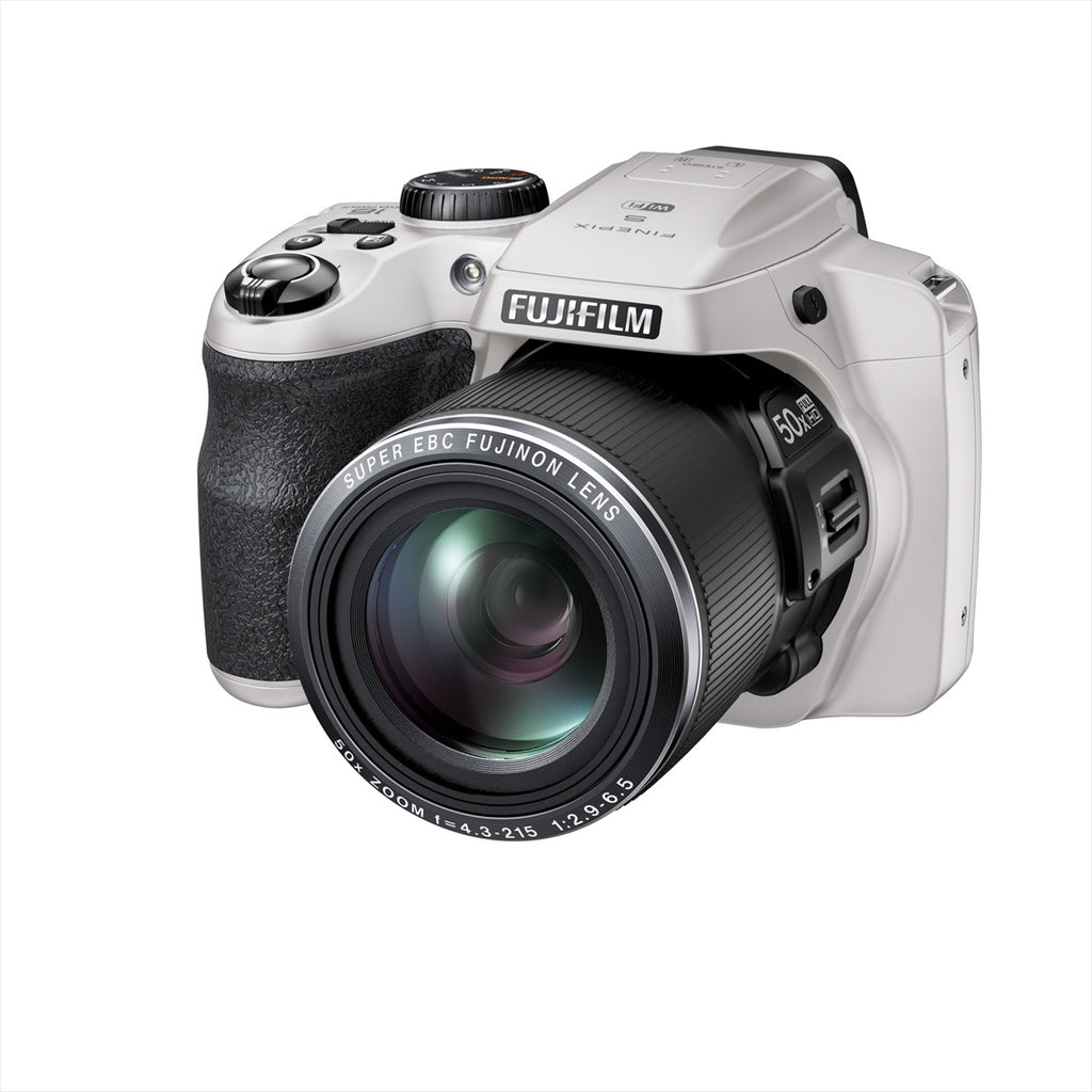 Fujifilm FinePix S9200W White Digital Camera (S9200/S9400W)