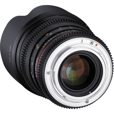 Samyang 50mm T1.5 VDSLR AS UMC Lens (Nikon)