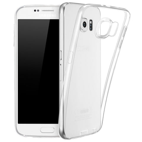 Samsung Galaxy S6 Soft Silicone Case (Transparent)