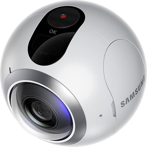 Samsung Gear 360 Spherical VR Camera (White)