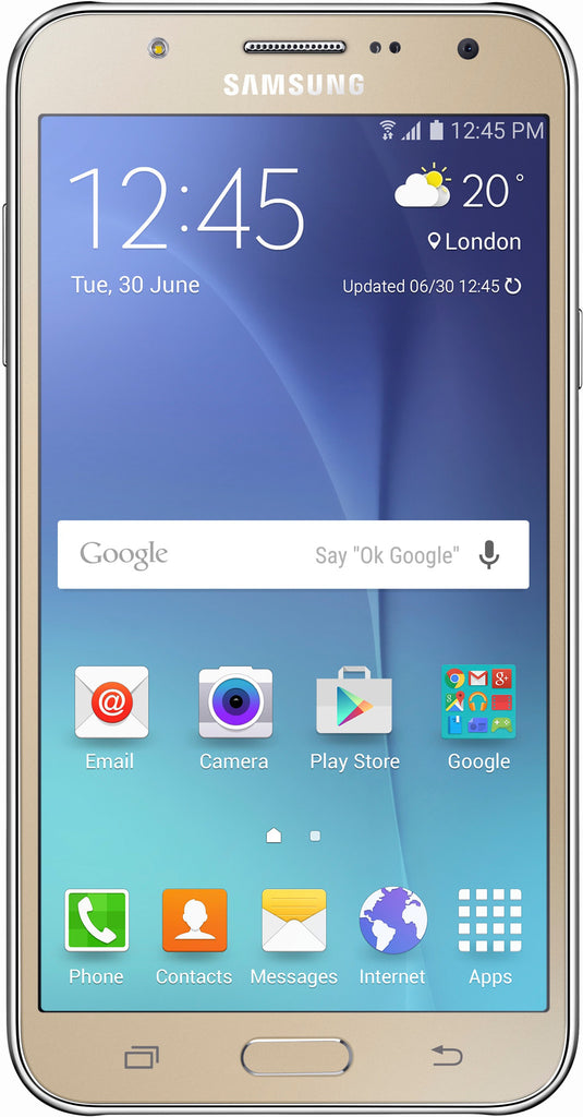 Samsung Galaxy J7 Duos 16GB 3G Gold (SM-J700H/DS) Unlocked