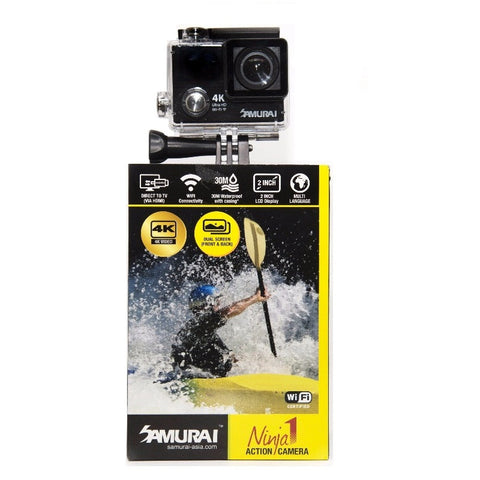 Samurai Ninja1 4K Black Action Camera