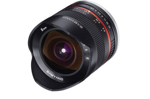 Samyang 8mm f2.8 II UMC Fisheye Black Lens (Sony E-Mount)