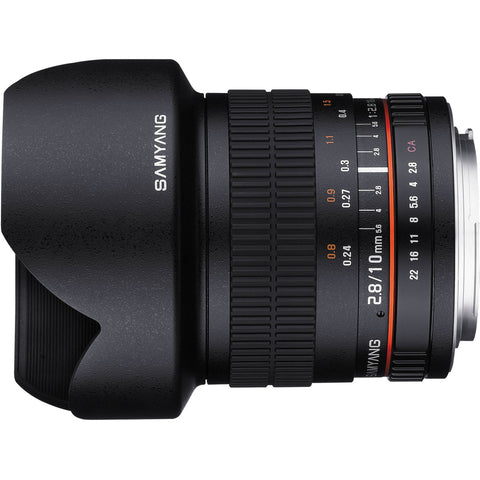 Samyang 10mm f/2.8 ED AS NCS CS Lens (Canon)