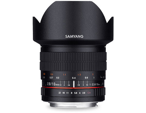 Samyang 10mm f/2.8 ED AS NCS CS Lens (Fuji X)