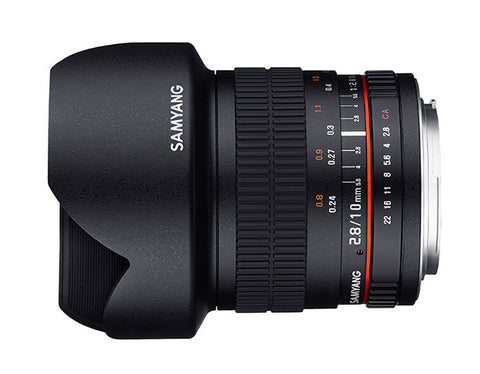 Samyang 10mm f/2.8 ED AS NCS CS Lens (Sony Nex)