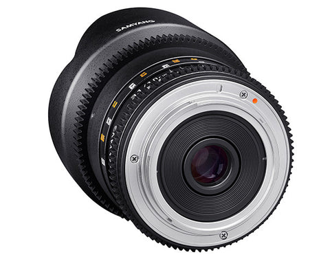 Samyang 10mm T3.1 VDSLR II for Canon