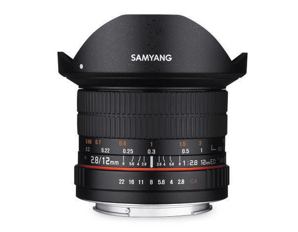 Samyang 12mm f/2.8 ED AS NCS Lens for Nikon