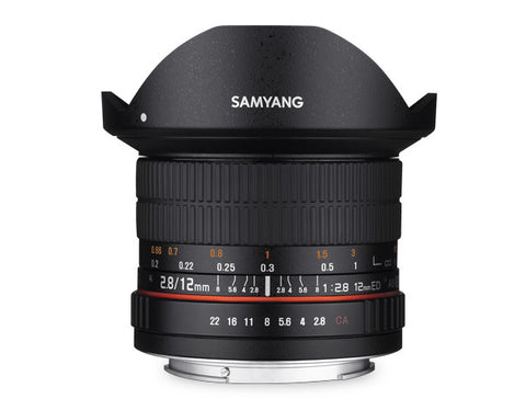 Samyang 12mm f/2.8 for Canon