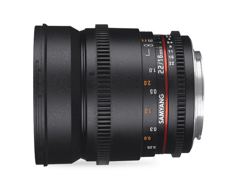 Samyang 16mm T2.2 VDSLR II for Sony Nex