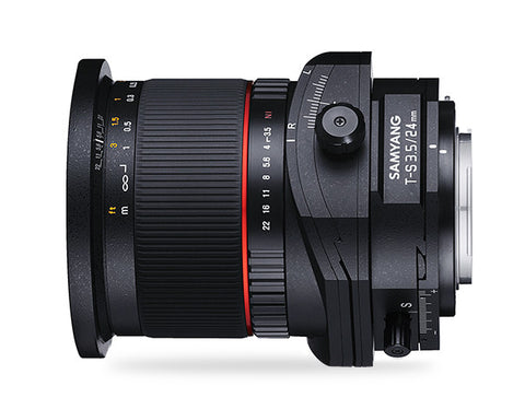 Samyang 24mm f/3.5 ED AS UMC Tilt-Shift Lens for Sony Alpha