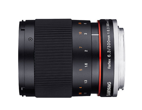Samyang 300mm f/6.3 Mirror Lens for Sony Alpha