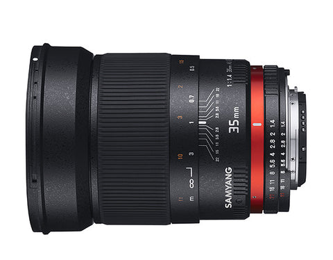 Samyang 35mm f/1.4 for Olympus