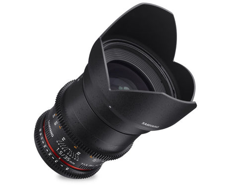 Samyang 35mm T1.5 VDSLR AS UMC MK II (Nikon) Lens