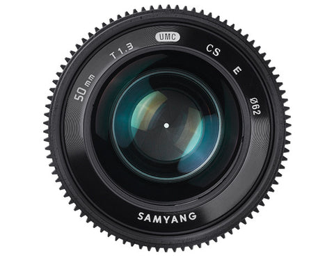 Samyang 50mm T1.3 AS UMC CS (Sony Nex)