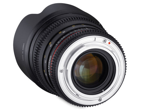 Samyang 50mm T1.5 VDSLR AS UMC Lens (Olympus)